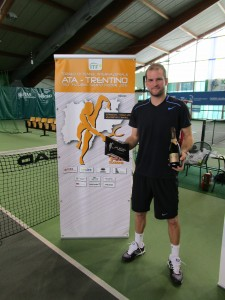 Philip Bester is the champion in Trento 2015