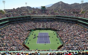 The Tennis Stadium in Indian Wells