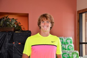 Alexander Zverev has come from a first round loss in Houston to continue on clay in Sarasota (photo: Instudio E photo)