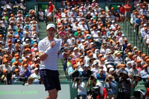Andy Murray won the second set (photo: Miami Open)