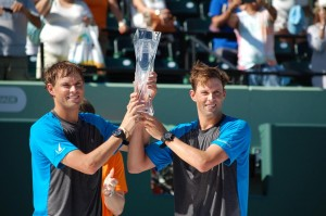 The Bryan Brothers captured the doubles title