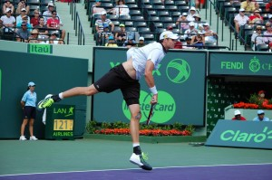 John Isner is making his eighth appearance in Miami and has reached his first semi-final (photo: Miami Open)