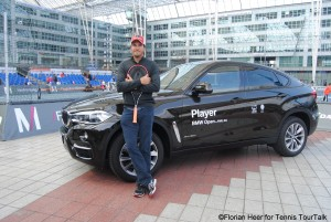 Haas is the current 173 in ATP Rankings and will receive a wild card for this year's BMW Open