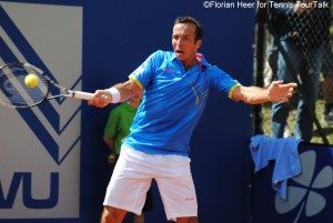 Radek Stepanek plays his only second tournament of the season in Munich
