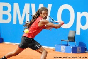Dustin Brown will compete for a main draw spot on Monday