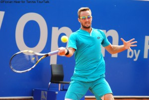 Viktor Troicki was not happy with his performance today