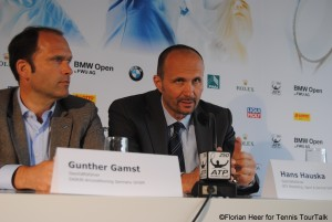 BTV Marketing director Hans Hauska announced the two new German ITF Future events in Munich today