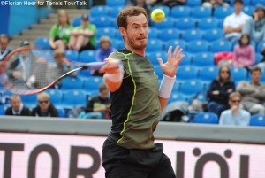 Andy Murray advanced to the semi-finals in Munich