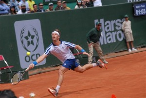Daniel Gimeno-Traver reached his first semi-final of the season (photo: GP Hassan II)