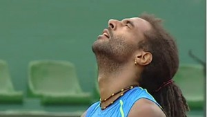 Dustin Brown advanced to the second round