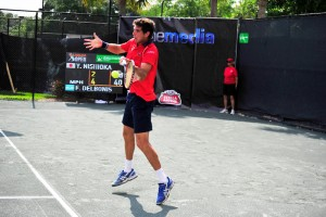 Federico Delbonis is the tournament's second favorite (photo: Instudio E photo)