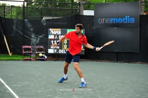 Federico Delbonis made it into his first semi-final of the season