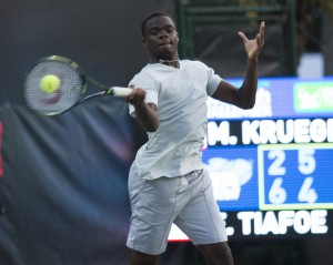 Frances Tiafoe is still in the lead for the USTA French Open wild Card (photo: Jacob Stuckey - SJ/C Savannah Challenger)
