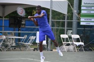 17-year-old Frances Tiafoe reached his third consecutive ATP Challenger quarterfinal (photo: Tallahassee Challenger)