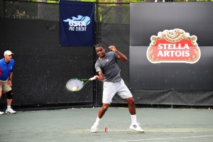 US-American Youngster Francis Tiafoe