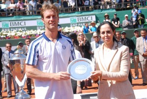 First time runner-up on the ATP World Tour: Daniel Gimeno-Traver (photo: GP Hassan II)