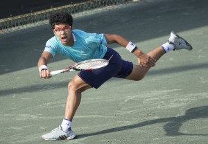 Hyeon Chung will reach the top 100 in the ATP rankings on Monday (photo: Jacob Stuckey - SJ/C Savannah Challenger)