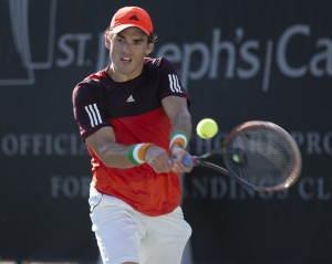 James McGee has reached his second ATP Challenger career final  (photo: Jacob Stuckey - SJ/C Savannah Challenger)