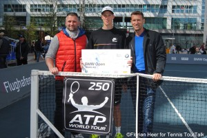Jan Choinski received the wild card from BMW Open tournament director Patrick Kühnen
