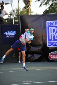 Jared Donaldson made it into the quarterfinals in Sarasota