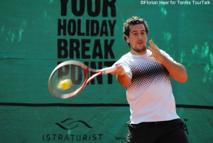 Lamine Ouahab leads 2-0 in head to head over Robin Haase