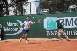 Martin Klizan beat Dustin Brown for the third time in their fourth Meeting (photo: GP Hassan II)