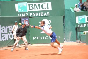 Martin Klizan defeated Nicolas Almagro for the first time (photo: GP Hassan II)