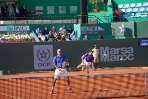 Lamine Ouahab and Younes Rachidi made it into the doubles semi-finals (photo: GP Hassan II)