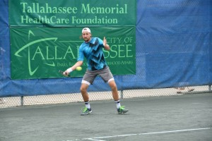 Tenny Sandgren advanced to the second round (photo: Tallahassee Challenger)