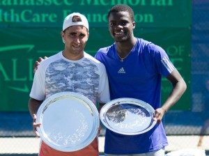 Facundo Arguello defeats Frances Tiafoe claiming the title in Tallahassee 2015 (photo: Tallahassee Challenger)