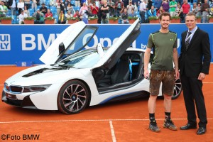 Andy Murray received a Lederhosen