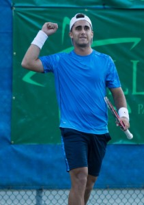 Facundo Arguello booked his spot in the final (photo: Tallhassee Challenger)