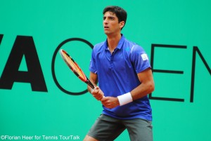 Tomaz Bellucci has reached his second semi-final of the season after Quito in February