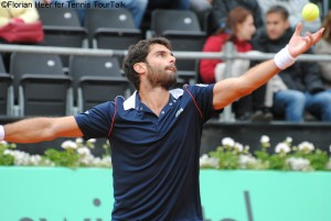 Pablo Andujar lost his first meeting with Sousa