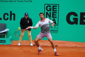 Stan Wawrinka still has to wait for claiming his first title in Switzerland