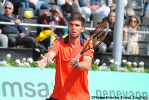 Federico Delbonis lost against Sousa for the first time in their second tour meeting