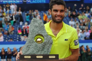 Pablo Andújar will defend his title in Gstaad