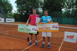 Jan Satral defeated Adrian Sikora for the second time in the Czech Republic