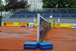 Unfortunately rain didn't stop on Friday and no matches could be played