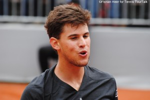 """Dominic Thiem was moaning: """"I am playing without first serve!"""""""