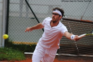 Gerald Melzer has been the surprise of the tournament