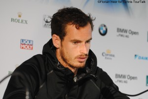 Andy Murray seemed to be pretty tired in the post-match press conference