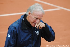 There was a lot to do for ATP Supervisor Gerry Armstron in Munich on Sunday
