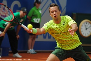 Philipp Kohlschreiber played a great final in Munich