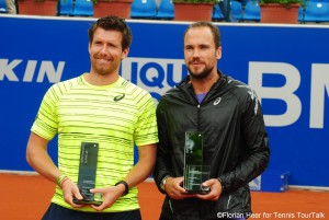 Alexander Peya and Bruno Soares captured the doubles title in Munich