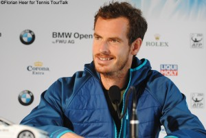 Andy Murray was happy to claim his first clay court title