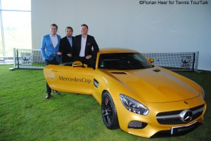 The tournament's champion will receive a Mercedes AMG GT S