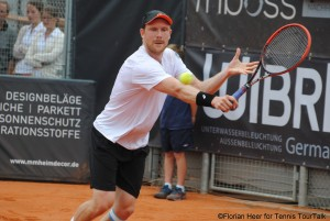 Matthias Bachinger will face Struff for the second time on the tour. He lost the previous meeting in Helsinkin 2012