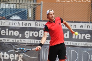 Jan-Lennard Struff is on the way to defend his title in Heilbronn