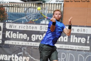 Bjorn Fratangelo suffered a third defeat against the German